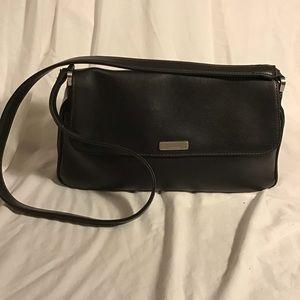 Liz Claiborne- Vegan Leather Shoulder Bag